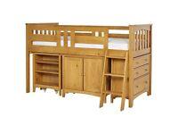 Harvey Sleep Station Mid Sleeper Bed