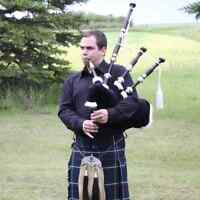 Experienced Solo Piper for Hire