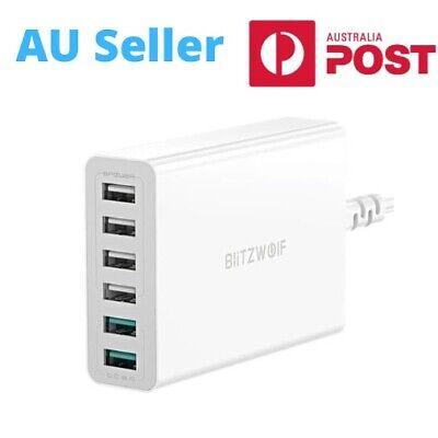 BlitzWolf BW-S15 60W 6 Port USB Fast Quick Charge