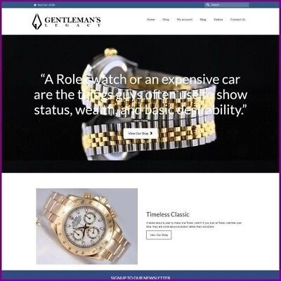 Rolex Watch Website Business For Saleearn 4340.40 A Salefree Domainhosting