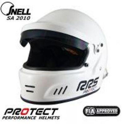 RRS Integral-Helm m. HANS-Clips + FIA-Norm SA2010 / Gr. XXL  (63-64)