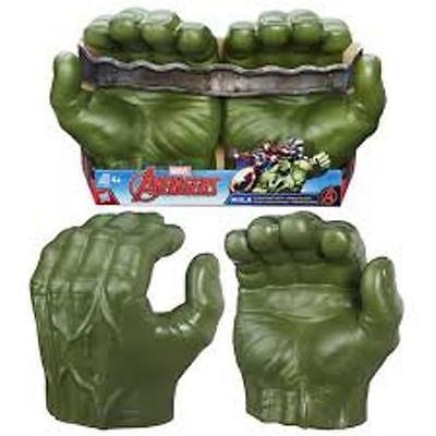 Marvel INCREDIBLE HULK AVENGERS Gamma Grip Fists Smash Green Hands Figure Gloves