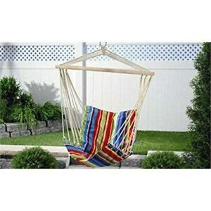 GIFT CRAFT 705830 FABRIC SWING CHAIR
