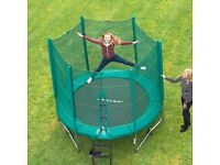 8ft enclosed trampoline