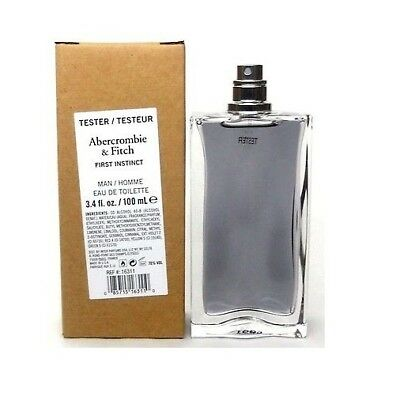 Used, Abercrombie & Fitch First Instinct EDT 3.4 Oz Men's Cologne TST for sale  Saint Augustine