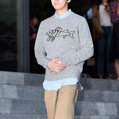 UNIQLO x J.W. Anderson JWA Lambswool Crewneck Sweater Jumper Gray Size Medium M