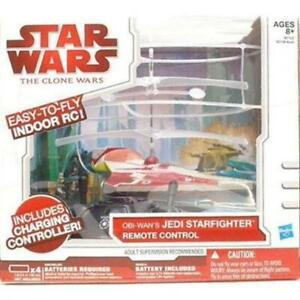 STAR WARS REMOTE CONTROL VEHICLES JEDI STARFIGHTER R/C VEHICLE