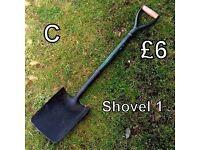Gardening Tools (C) - Shovel 1