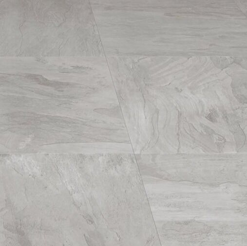 Leggiero Light Grey Slate Effect Laminate Flooring 1 86 M² Pack 12 Packs
