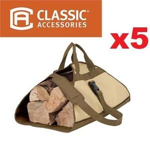 5 NEW LOG CARRIERS 55-056-011501-00 197701761 CLASSIC ACCESSORIES