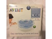 New Philips AVENT microwave steriliser in box. Never been used