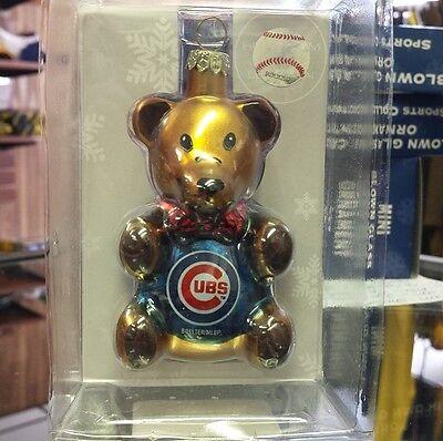 Chicago Cubs Teddy Bear (MLB Chicago Cubs Teddy Bear Ornament )