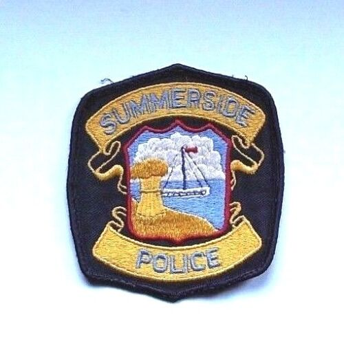 Vintage Summerside PEI Police Patch - OBSOLETE!!!