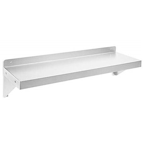 Commercial 430 Stainless Steel Kitchen Wall Shelf, NSF Certificated,Wall Mounted