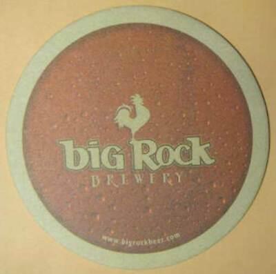 BIG ROCK BREWERY, Why is Big Rock Called, Beer COASTER, Mat, Calgary, AB, CANADA segunda mano  Embacar hacia Argentina