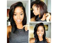 ALL WEAVES WITH LEAVE-OUT,VERSATILE/HALF/FULL WEAVES,CLOSURE/FRONTALS Etc. FROM £40