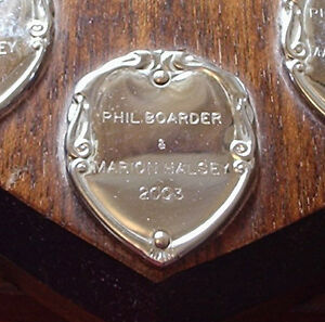 ENGRAVING ENGRAVED SHIELD PLAQUE 20 LETTERS TROPHIES