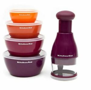 KItchen Aid Food Chopper & Prep Bowl Set