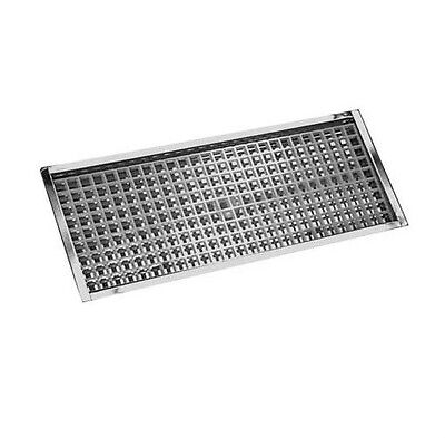 23 78 Flanged Mount Drip Tray- Stainless Steel W Drain - Bar Draft Beer Spill