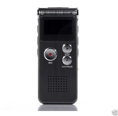 8 GB Digital EVP VOICE RECORDER Flash Memory Ghost Hunting Paranormal Equipment