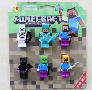 MINICRAFT MINIFIGURINE POPULAIRE NEUF. 12 PIECES