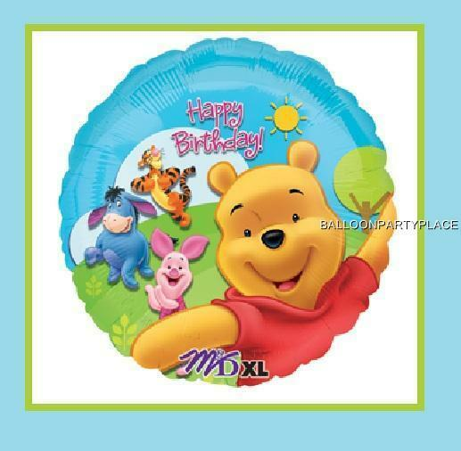 Sunny Winnie The Pooh Birthday Balloon Party Supplies Decorations Piglet Tigger
