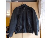 Leather jacket for man , size XL, warm, with lining, perfect for autumn/winter. £20. East London