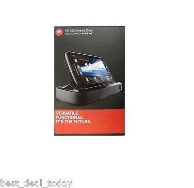 Motorola Hd Multimedia Dock &remote For Atrix 4g Mb860 89...