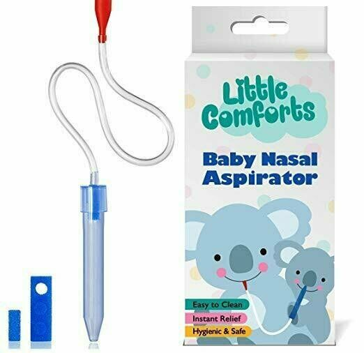 Baby Nose Cleaner Relief Booger Sucker Clears Infant Nostrils, Remove Mucus