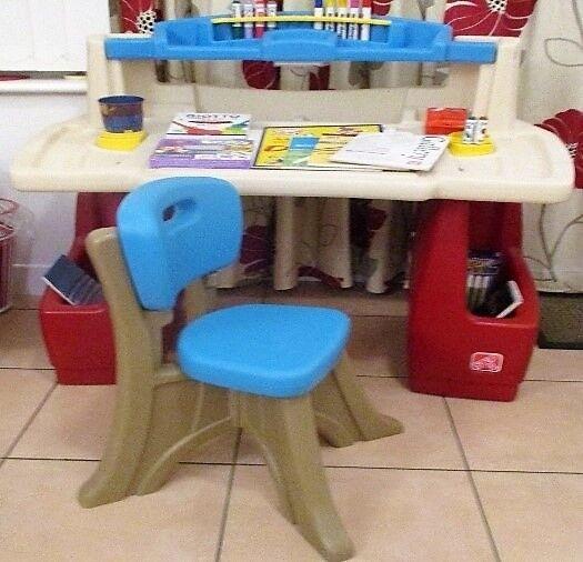 Step 2 Children S Art Activity Centre Desk Excellent Condition
