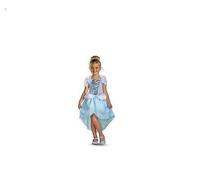 Kids Disney Princess Cinderella Girls Brand New Dress Hallow