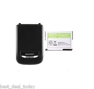 Seidio Extended Life Battery & Door For Blackberry (Extend Battery Life Blackberry)