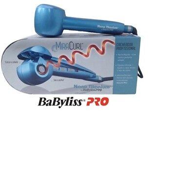 BABYLISS PRO NANO TITANIUM MIRACURL PROFESSIONAL CURL MACHINE NEW