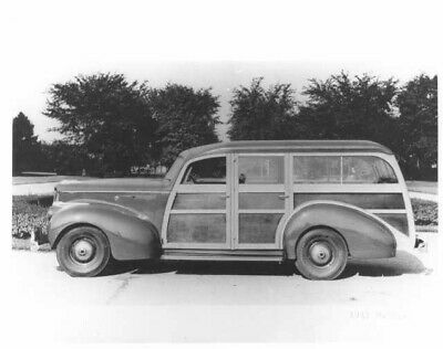 1941 Packard with Hercules Body Woody Station Wagon Press Photo 0029 for sale  Shipping to Canada