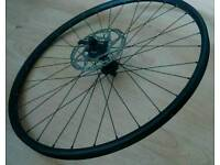 "DT swiss 26"" disc brake front wheel."