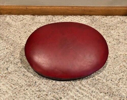 Vintage Ludwig Red Throne Seat Only  60