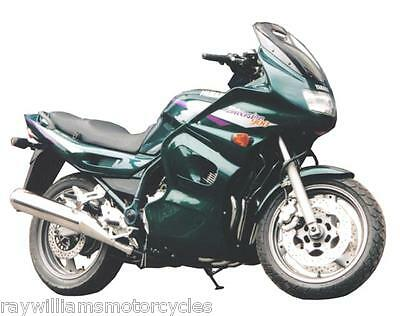 <em>YAMAHA</em> DIVERSION 900 ALL YEARS GLOSS GREEN SIDE PANEL FAIRING LOWERS 2
