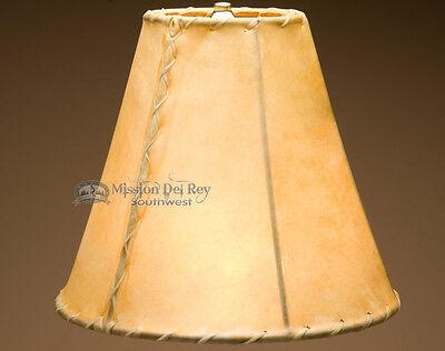 Southwest Rawhide Lamp Shades (12