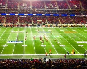GREY CUP TICKETS – TWO PREMIER SEATS on 40 YARD LINE