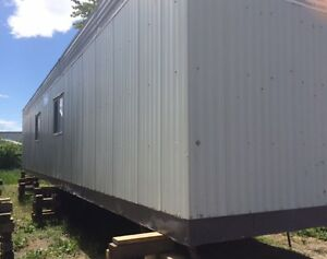 10x52 Flat Bottom Construction Office Trailer for Sale Prince George British Columbia image 1