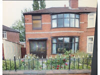 Lovely 3 bed semi with large gardens Withington £1200pcm 1st September
