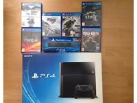 BLACK 500 GB PS4 / PLAYSTATION 4 FOR SALE (BOXED) DUE TO UPGRADE *RUNCORN*