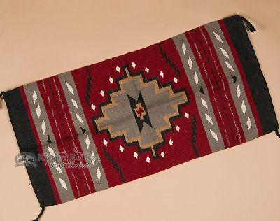 Classic Native Navajo Style Rug 20x40 (40211)