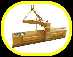 5' - 6' - 7' srcaper / grader / snow BLADES, 3 point hitch, NEW