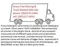 Stress Free Moving & Truck Related Odd Jobs