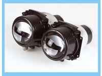 H1 55 Wat Ellipsoidscheinwerfer Abblendlicht Motorrad 38 mm