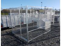Galvanised Dog Pens/Cages