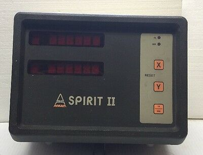 Anilam Spirit 2 Axis Dro Digital Read Out Model A150-10