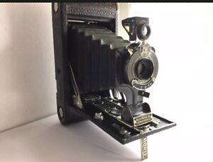 Antique vintage kodak folding camera