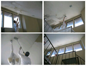 Popcorn ceiling removal Free. Drywall. Painting.
